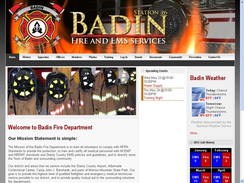 Badin Fire Department