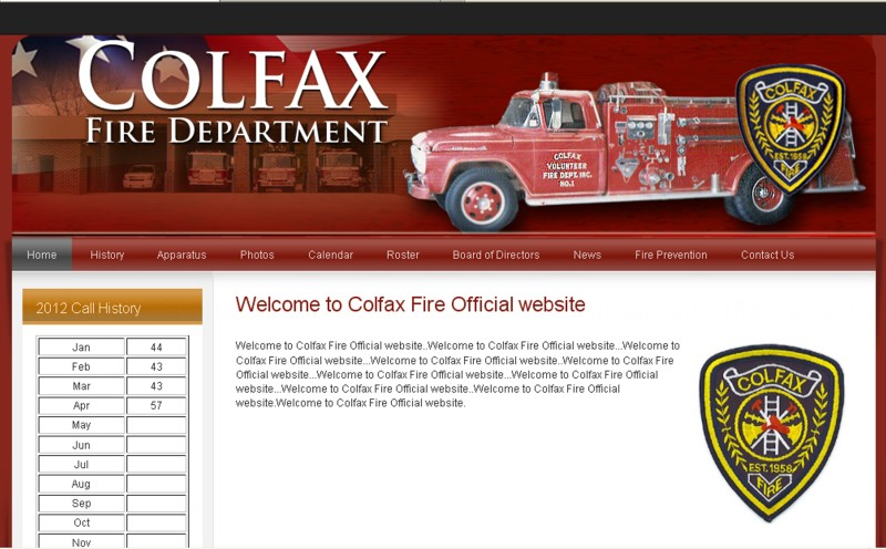 Colfax Fire Department